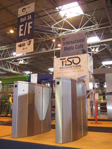 Freeway turnstiles