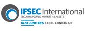 شعار من IFSEC 2015 تظهر