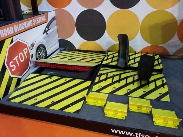 Tire-killers y Speedbump, espectáculo Intersec 2013