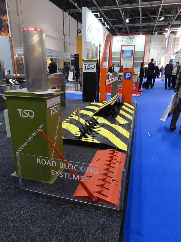 Road blocking systems, Intersec 2015