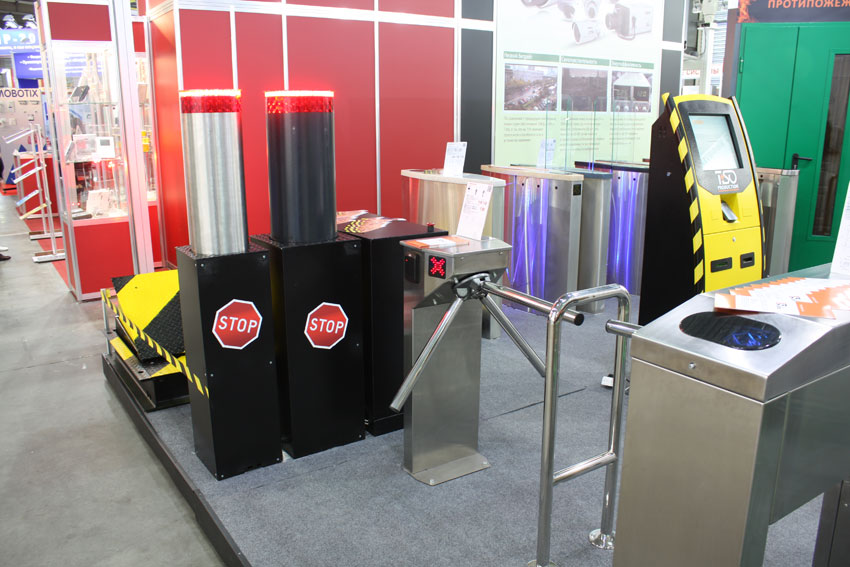 Bollards and Centurion, Security 2013 show