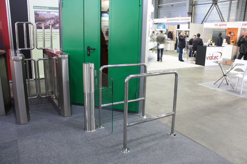 Sweeper-MP, Gate-GS and Enclosure, Security 2013 show