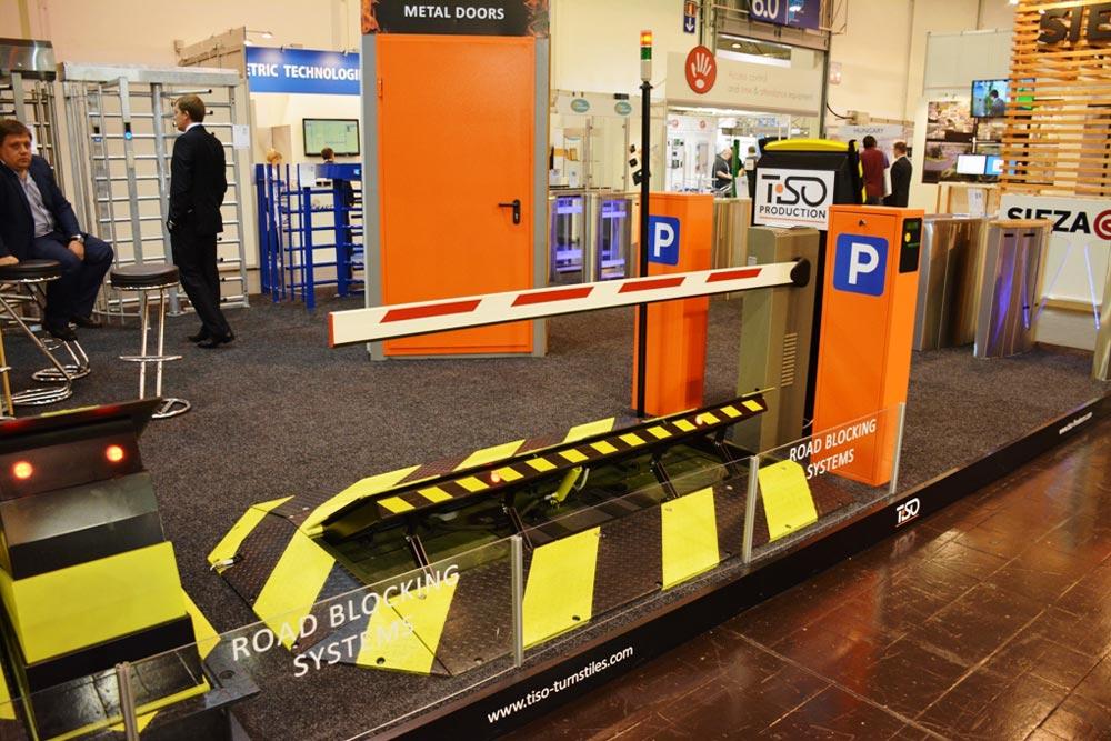 Sistema de estacionamiento, Security Essen 2014