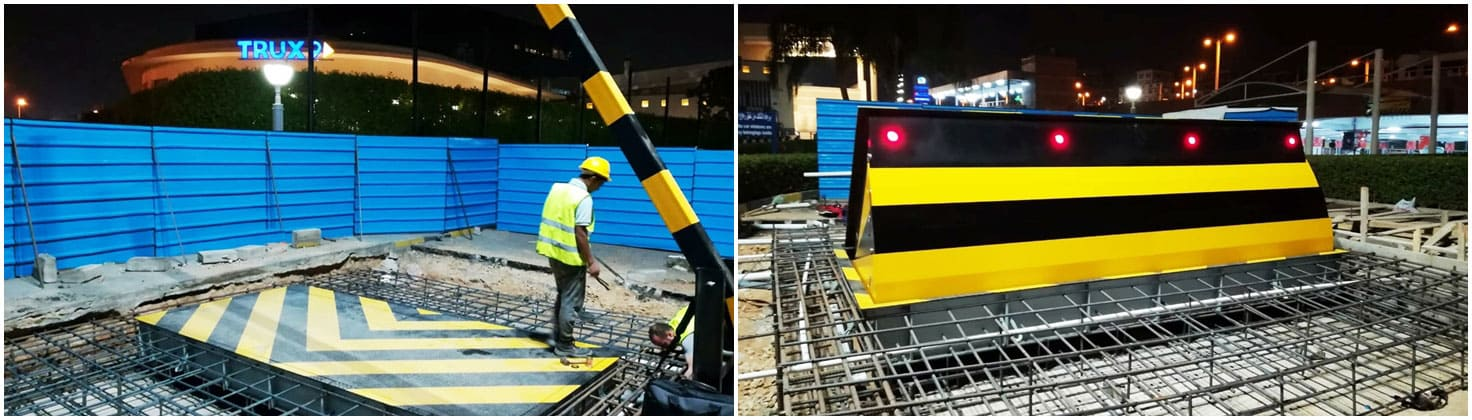 Installation M50 (K12) Road Blocker in Cairo