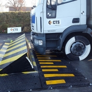 Crash-test of SpeedBump, M30, P1
