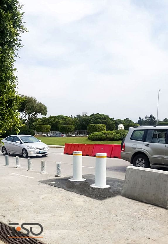 Balizões automáticos de alta segurança M30 (K4), Aeroporto Internacional de Beirute, Beirute, Líbano