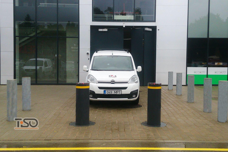 Parâmetros automáticos M30 de alta segurança, escritório G4S, Tartu, Estônia
