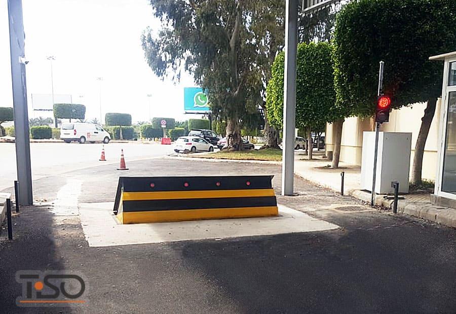 Bloqueadores para estradas de alta segurança M30 (K4), Aeroporto Internacional de Beirute, Líbano