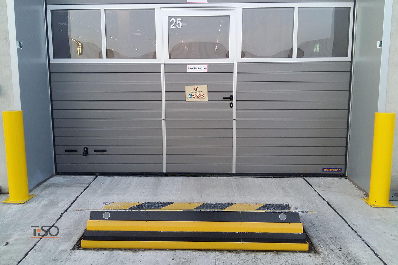 Bloqueador de estradas, DHL, Halle, Alemanha