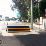 اجراءات امنية مشددة ، حواجز الطرق M30 (K4) ، مطار بيروت الدولي ، بيروت ، لبنان