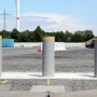 Crash-test of High security Fixed Triple Bollards, M50, P1