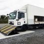 Test de collision du bloqueur de route ultra-peu profond PAS68 / IWA14-1 (7,5t à 48 km / h)