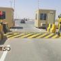 Assassini di pneumatici automatici, posto di frontiera tra Emirati Arabi Uniti e Sultanato dell'Oman