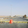 Automatic tire-killer, Border checkpoint between United Arab Emirates and Sultanate of Oman