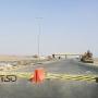 Автоматический шинный убийца, пограничный контрольно-пропускной пункт между Объединенными Арабскими Эмиратами и Султанатом Оман