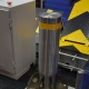 High security fixed bollard (mounting with reinforcing cage), IFSEC-2017