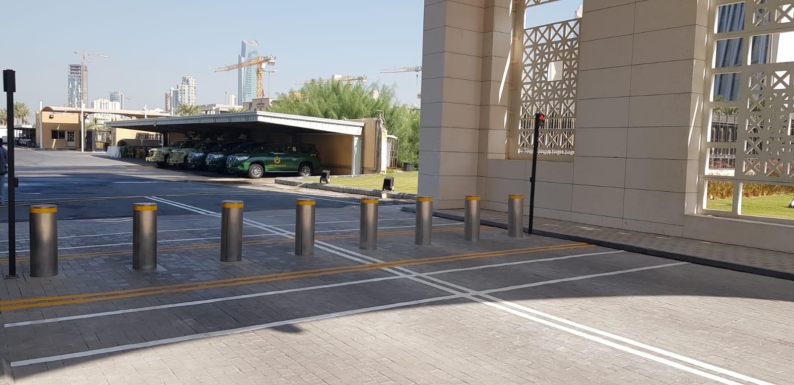 Verkehrsautomatische Poller, Außenministerium, Kuwait