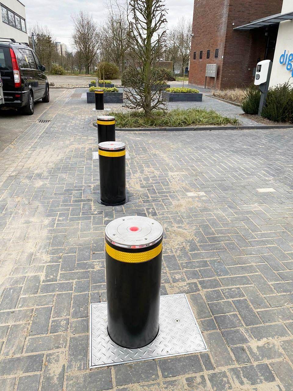 Verkehrsautomatische Poller RB349-12, Niederlande