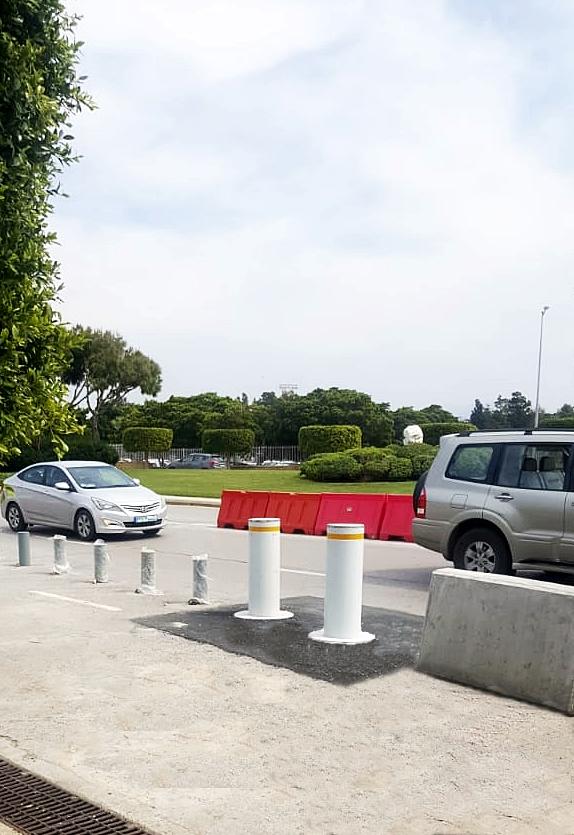 M30 (K4) Dissuasori automatici ad alta sicurezza, Beirut International Airport, Beirut, Libano
