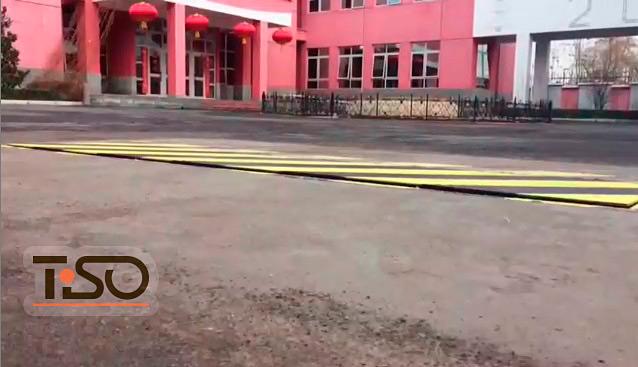 SpeedBump ad alta sicurezza, Tashkent, Uzbekistan