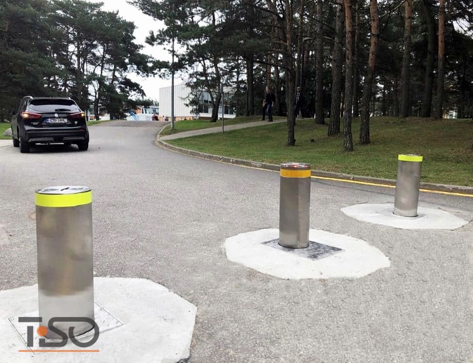 Bornes automatiques de circulation, Estonie