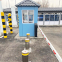Traffic automatic bollards, Border checkpoint between Kazakhstan and Kyrgyzstan