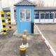 حواجز مرور أوتوماتيكية ، نقطة تفتيش على الحدود بين كازاخستان وقيرغيزستان