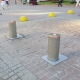 Traffic hydraulic bollards, KMDA, Kyiv, Ukraine