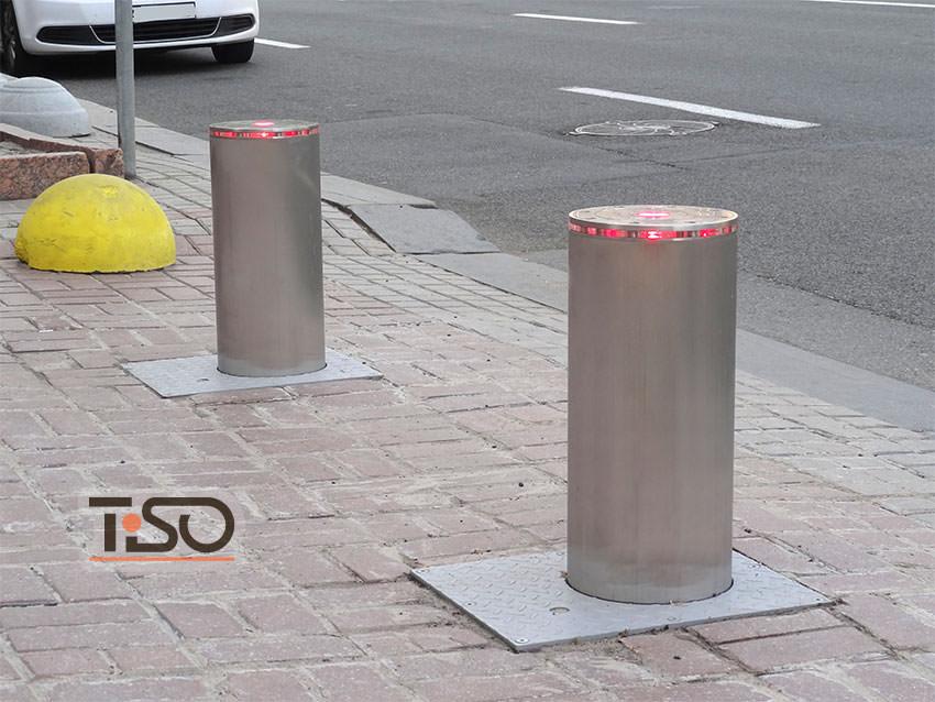 Bollspeed idraulico di traffico, KMDA, Kyiv, Ucraina
