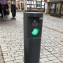 Traffic column, Erfurt, Germany