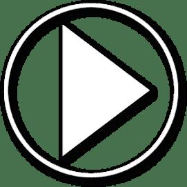 botão para reproduzir vídeo