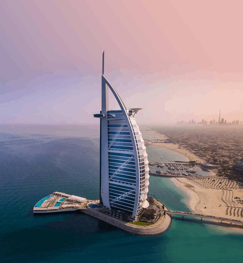 Burj Al Arab Hotel, Dubai, Vereinigte Arabische Emirate