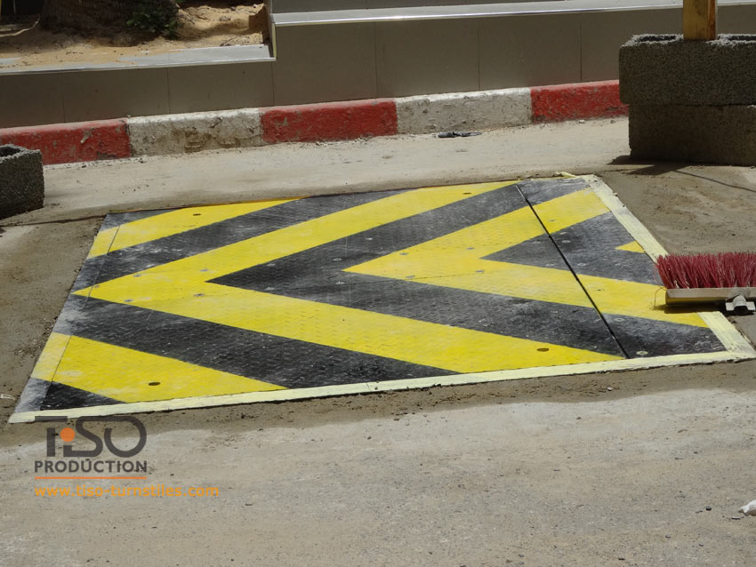 Road blocker, ASECNA, Dakar
