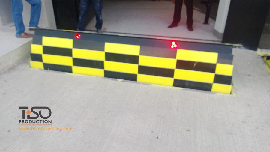 Bloqueador de estradas, sede da BBVA, Espanha
