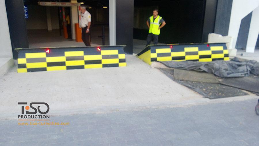 Дорожные блокаторы, штаб-квартира BBVA, Испания