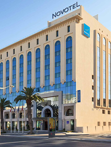 Hôtel Novotel, Tunis
