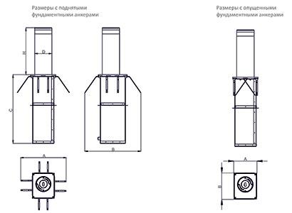 Нанесение дорожного полуавтоматического столбика (механизм привода сверла)