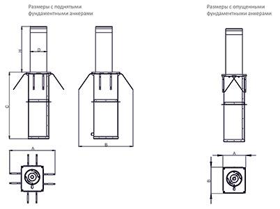 Нанесение дорожного полуавтоматического столбика (механизм газовой пружины)