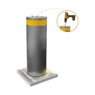 Verkehrsautomatische Poller (Bohrantriebsmechanismus)